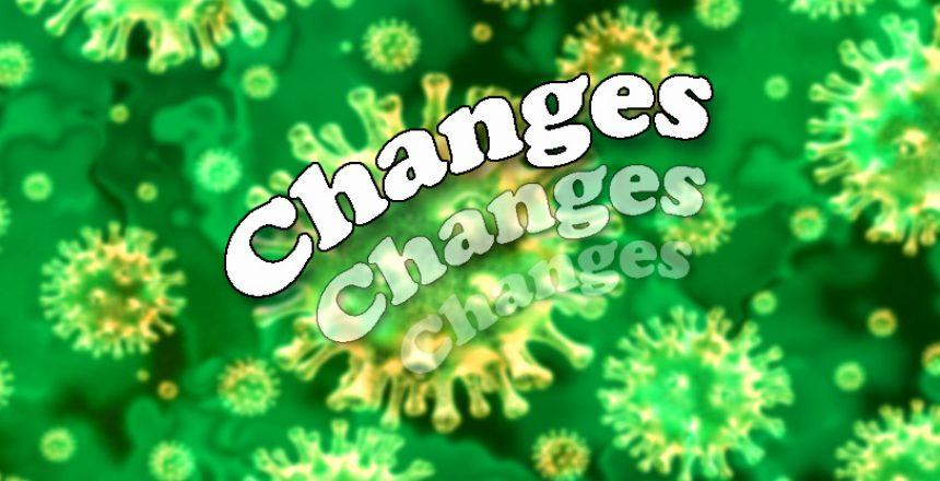 korona changes green